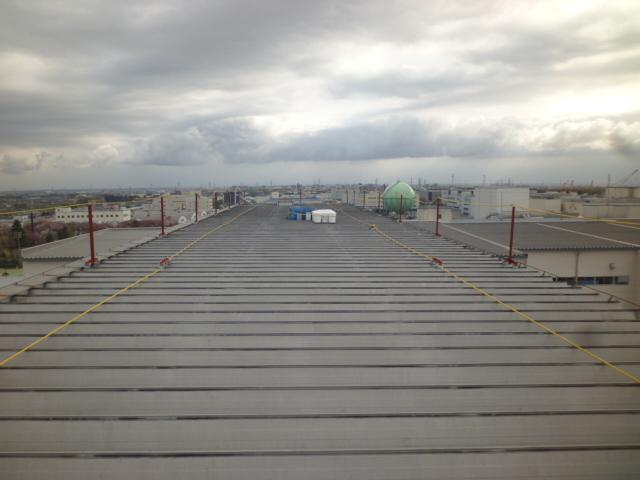 金属屋根遮熱塗装-1