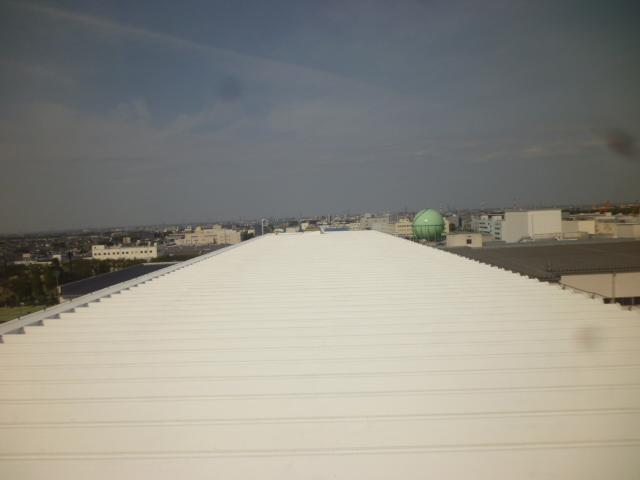 金属屋根遮熱塗装-2